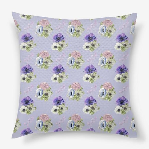 Подушка «Цветочный узор »