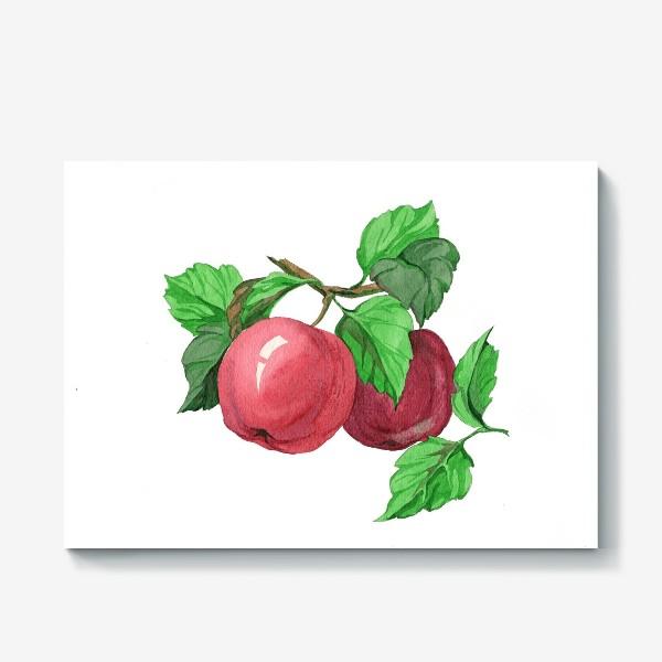 Холст «Яблоки»