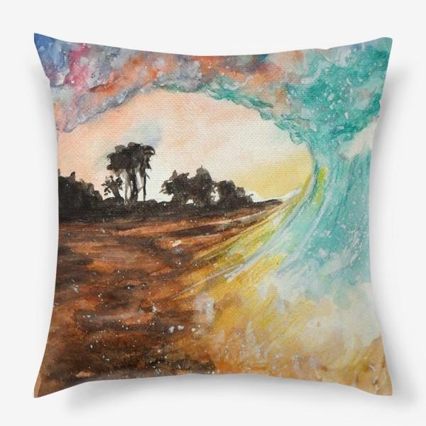 Подушка «Волна»