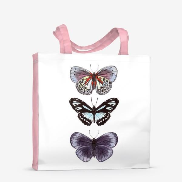 Сумка-шоппер «бабочки. butterfly»