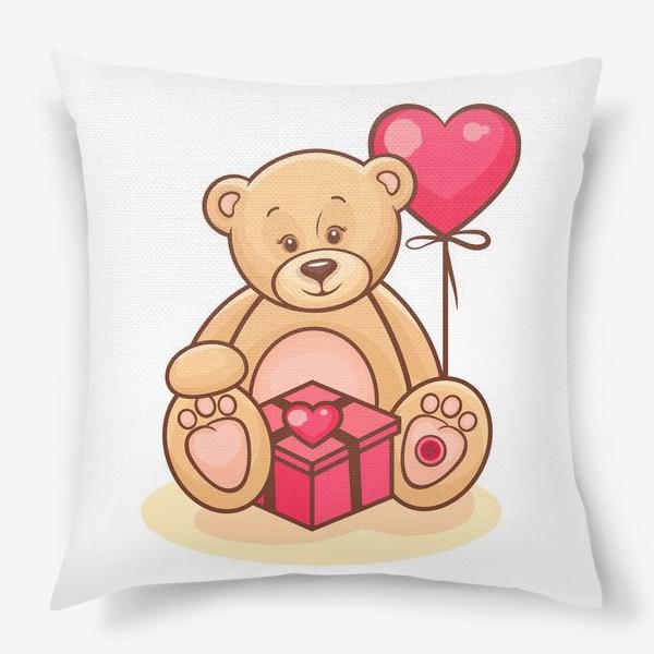 Подушка «тедди-мишка»
