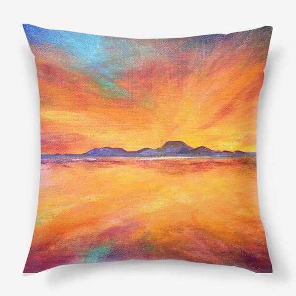 Подушка «Закат»