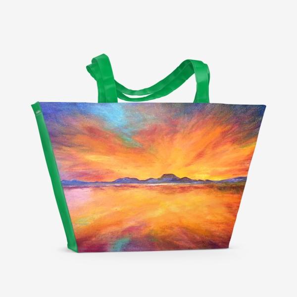 Пляжная сумка «Закат»