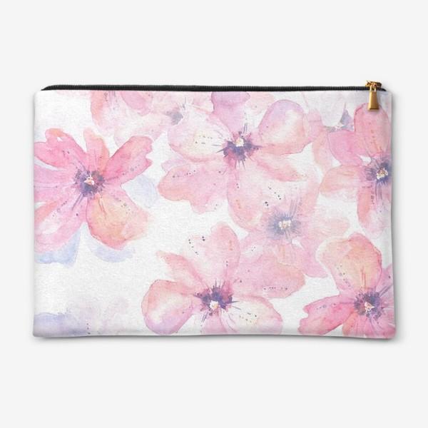Косметичка «Цветы весна»
