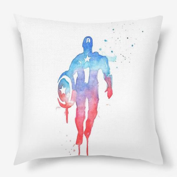 Подушка «Капитан Америка»