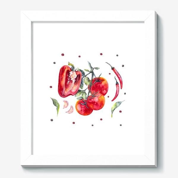 Картина «Томат и перец»