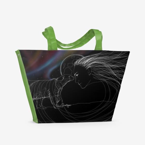 Пляжная сумка «Духи Севера»