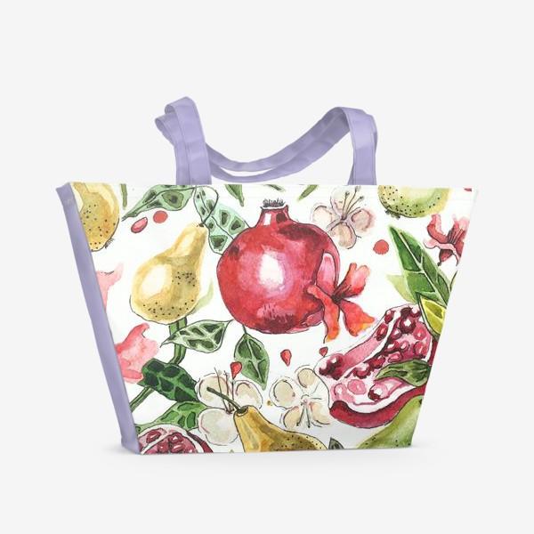 Пляжная сумка «spring fruits»