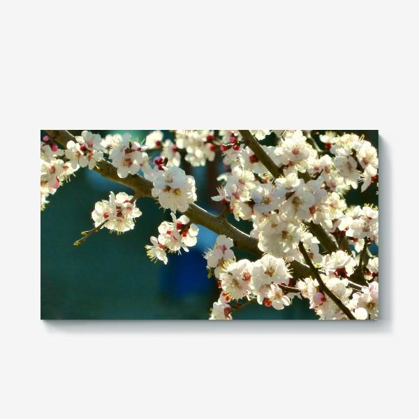 Холст «Яблоня в цвету»