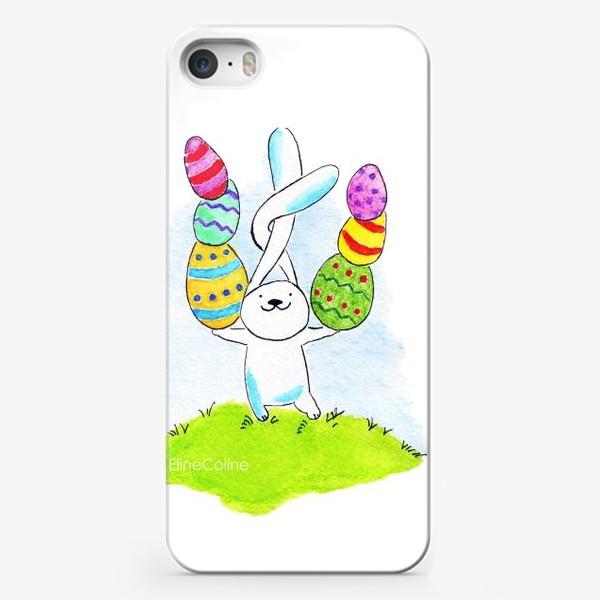 Чехол iPhone «Пасхальный заяц»