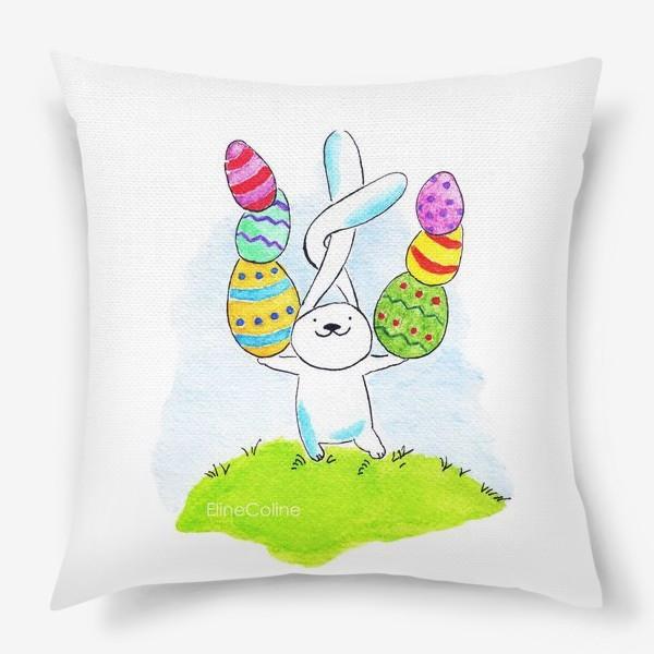 Подушка «Пасхальный заяц»