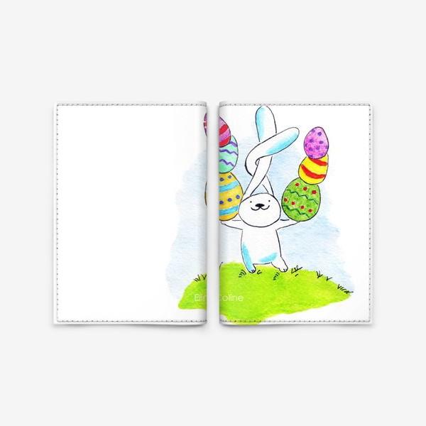 Обложка для паспорта «Пасхальный заяц»