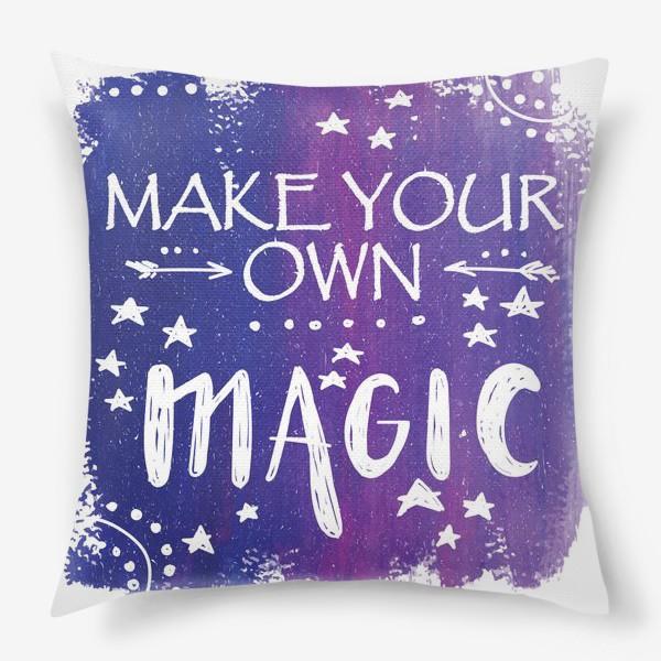 Подушка «магия»
