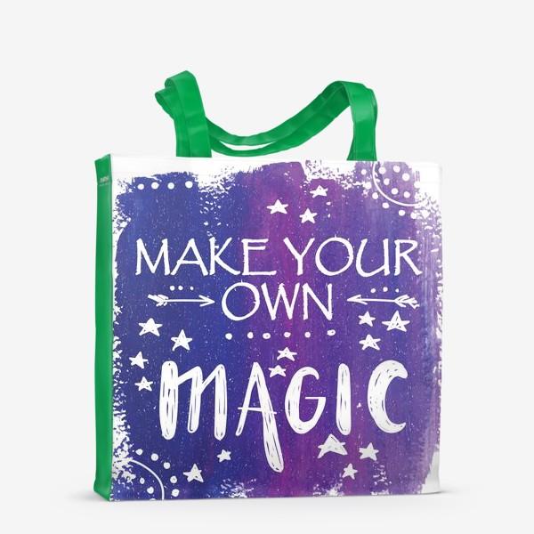 Сумка-шоппер «магия»