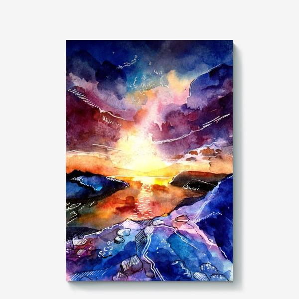 Холст «Волшебный берег »