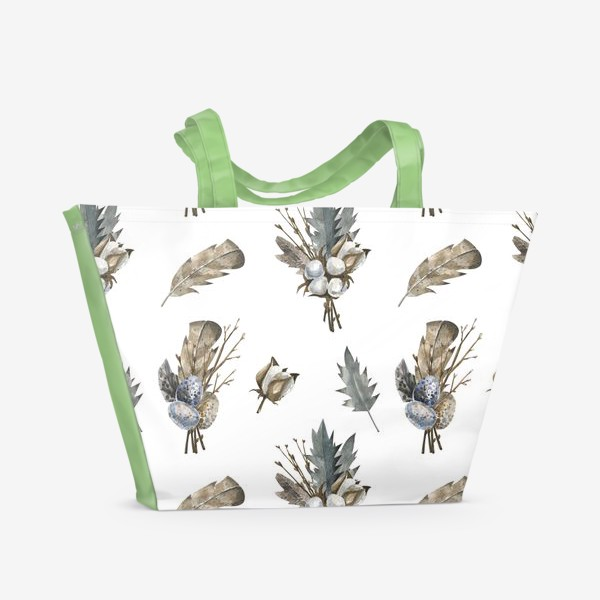 Пляжная сумка «Северная природа»