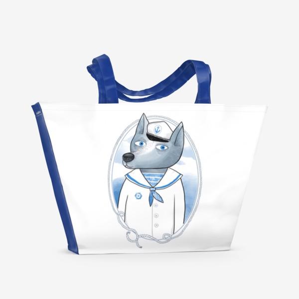 Пляжная сумка «Морской волк»