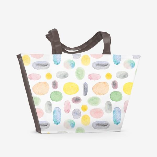 Пляжная сумка «Овалы»
