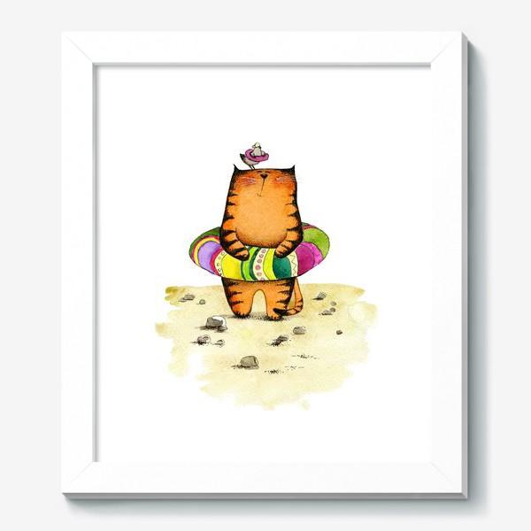 Картина «На пляже»