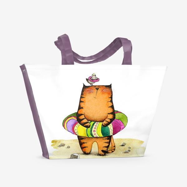 Пляжная сумка «На пляже»