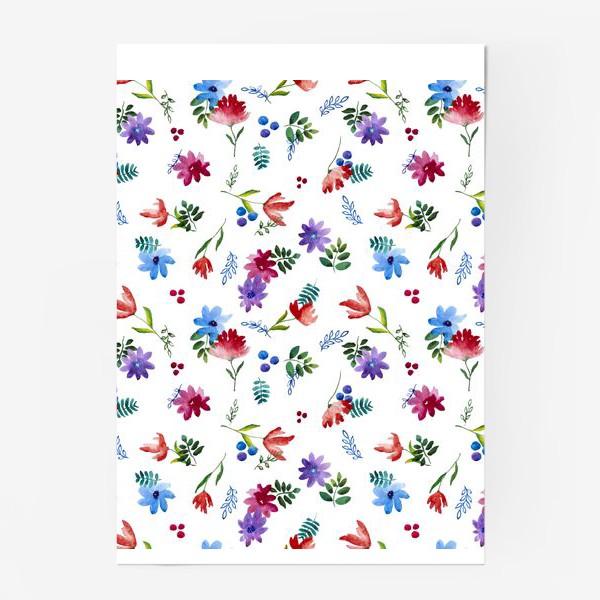 Постер «Цветочная нежность»