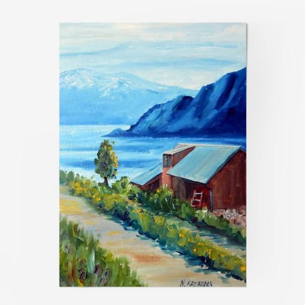 Постер «Норвежские истории. Фьорд.»