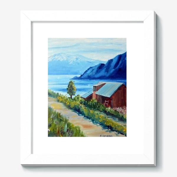 Картина «Норвежские истории. Фьорд.»