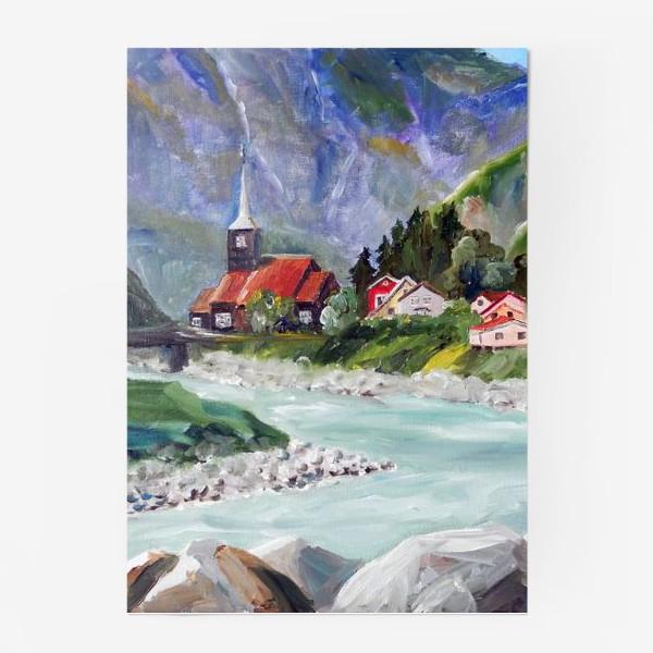 Постер «Норвежские истории. Река.»