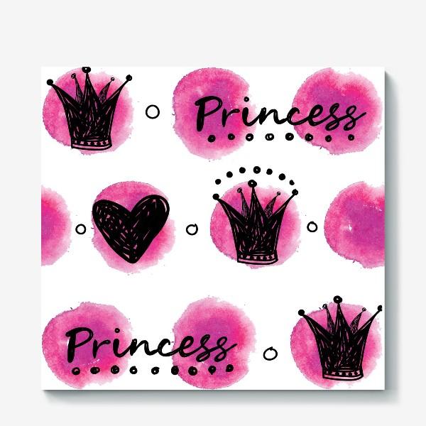 Холст «принцесса »