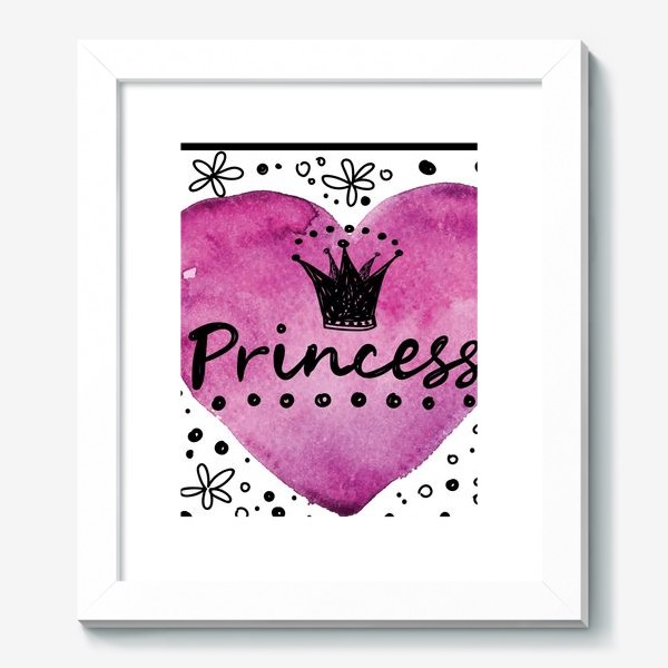 Картина «принцесса»