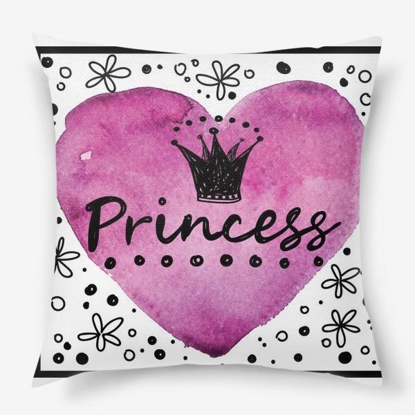 Подушка «принцесса»