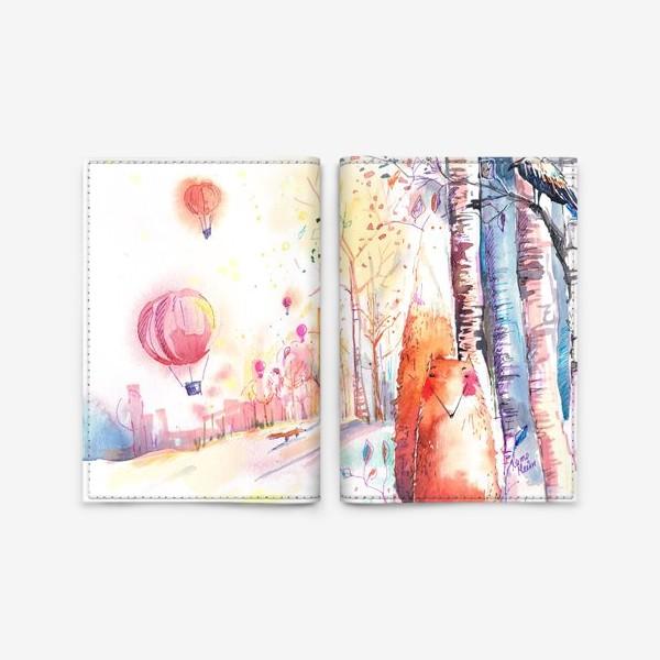 Обложка для паспорта «Весна»
