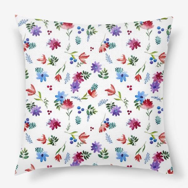 Подушка «Цветочная нежность»