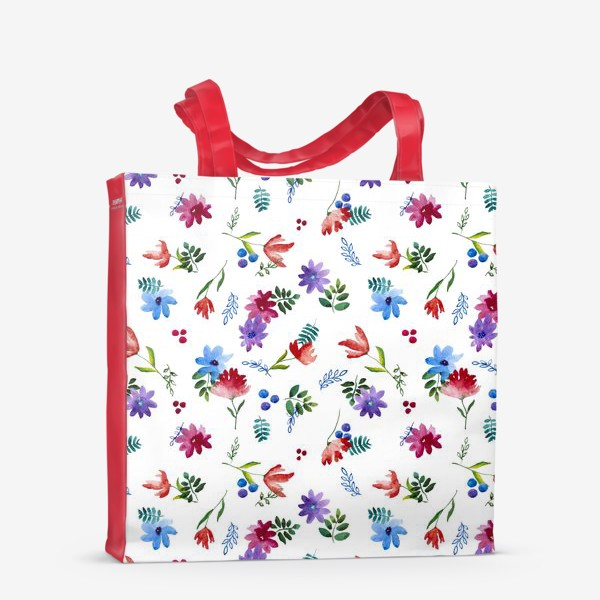 Сумка-шоппер «Цветочная нежность»
