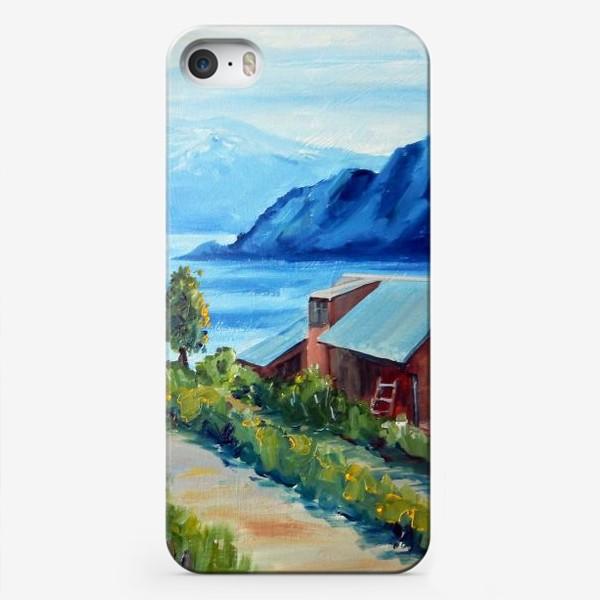 Чехол iPhone «Норвежские истории. Фьорд.»