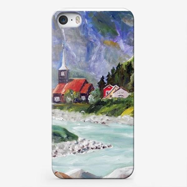 Чехол iPhone «Норвежские истории. Река.»