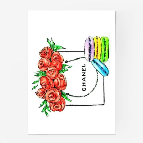 Постер «Sweet gift chanel . Шанель.»