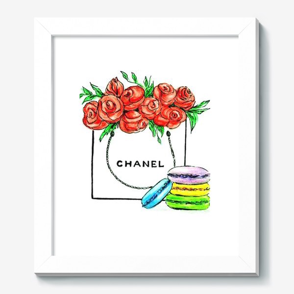 Картина «Sweet gift chanel . Шанель.»