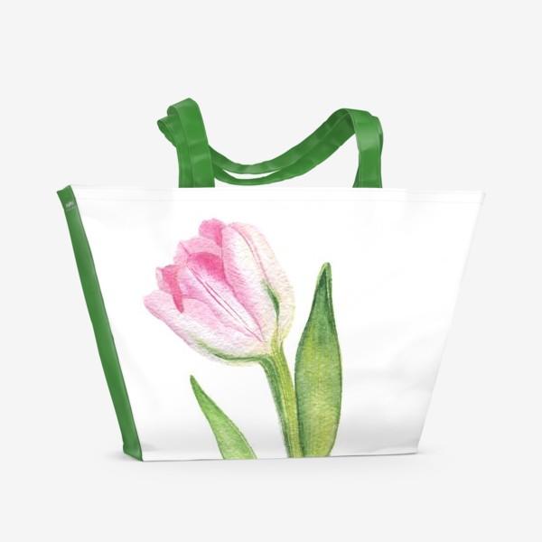 Пляжная сумка «Тюльпан»