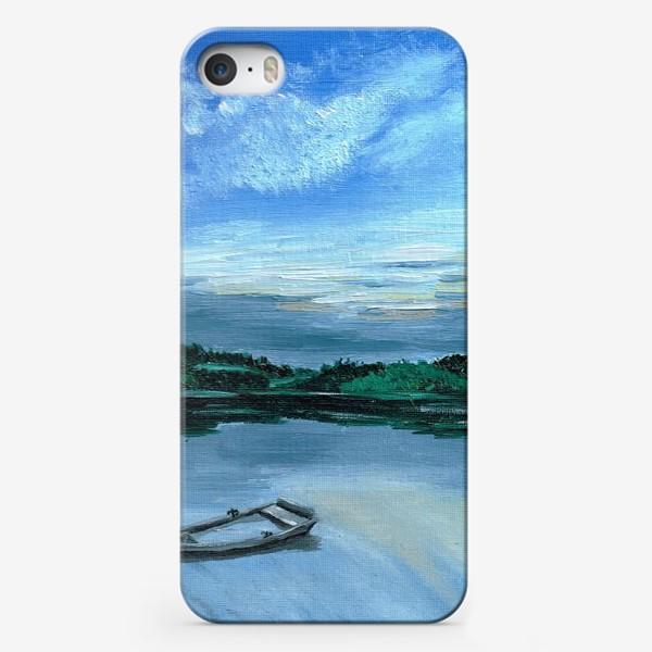 Чехол iPhone «Лодка на воде»
