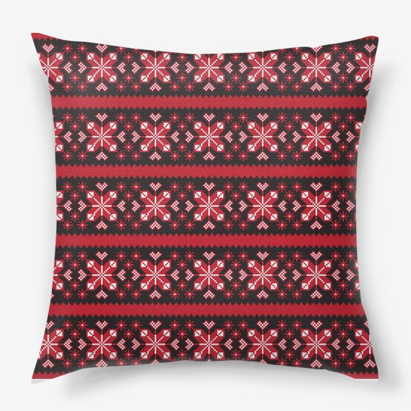 Подушка «Скандинавский орнамент»