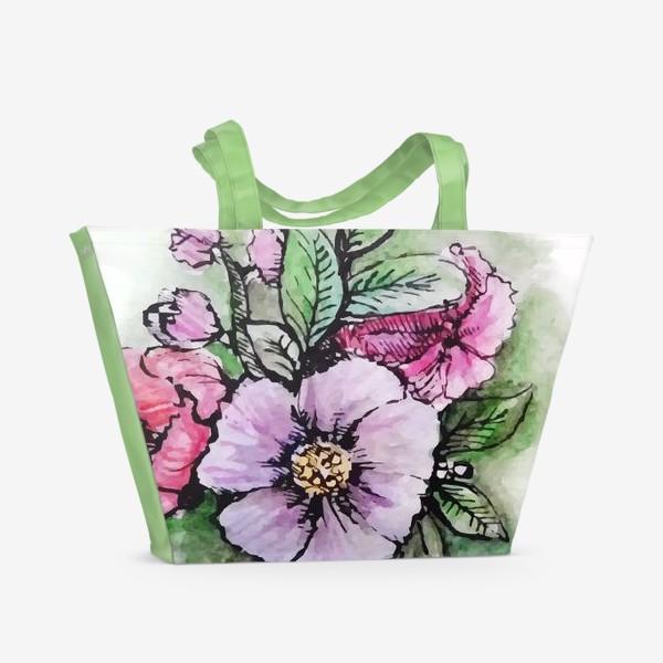 Пляжная сумка «Мгновения весны»