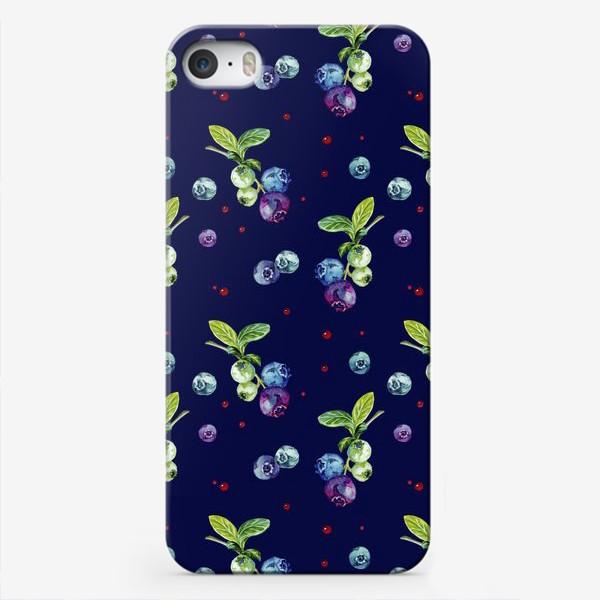 Чехол iPhone «Ягода голубика»