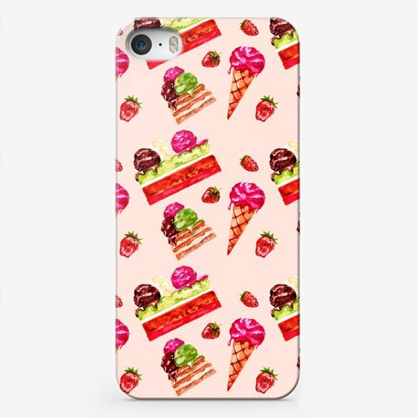 Чехол iPhone «Мороженое»