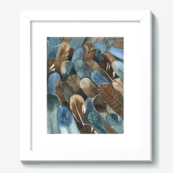 Картина «Перья паттерн»