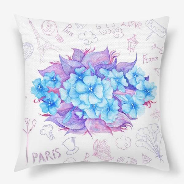 Подушка «Весна в Париже»