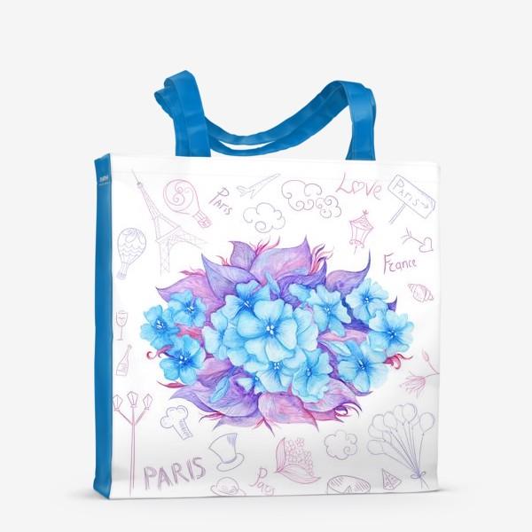 Сумка-шоппер «Весна в Париже»
