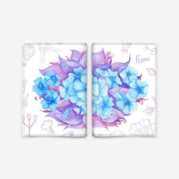 Обложка для паспорта «Весна в Париже»