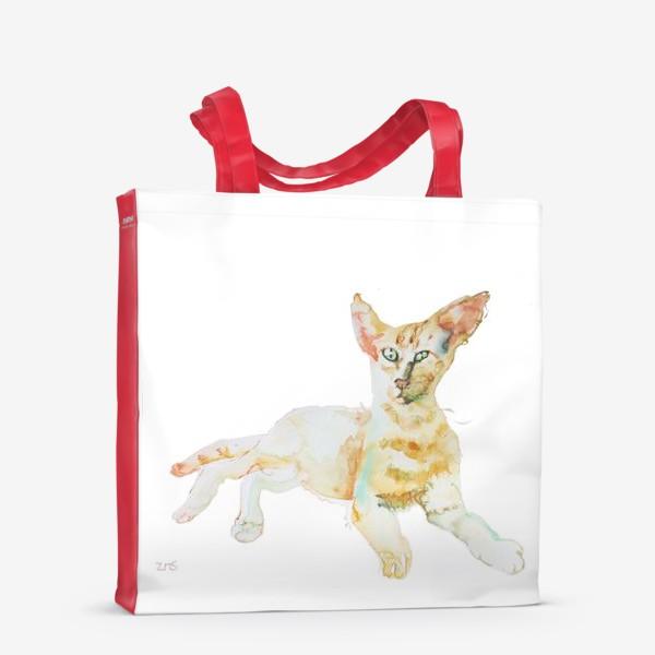 Сумка-шоппер «Совершенно Летний Котик»