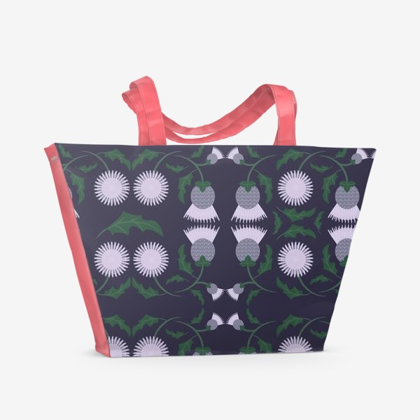 Пляжная сумка «Чертополох»
